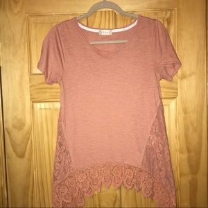 Altard state blush top size small